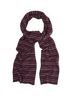 White Stuff Oliver stripe scarf