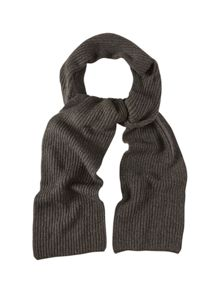 White Stuff Peter Plain Knit Scarf