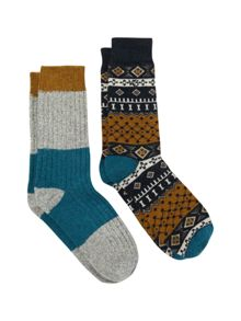 White Stuff Gerry socks 2 pack