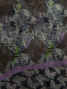 White Stuff Birds And Butterflies Scarf