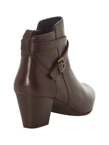 Evie Ankle Buckle Boot
