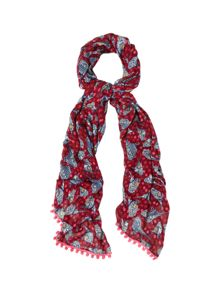 White Stuff Nepalese Bird Scarf