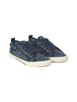 Darcy Lace Up Printed Trainer