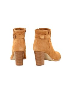Punch Out Ankle Boot
