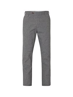 Tailored check trouser