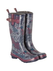White Stuff Floral High Leg Wellie