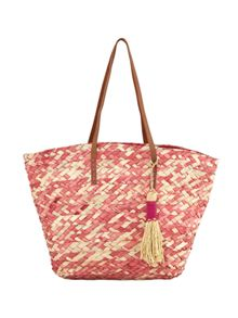 White Stuff Ombre Straw Tote
