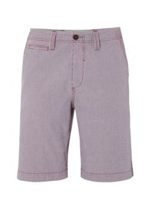 White Stuff Microcheck short