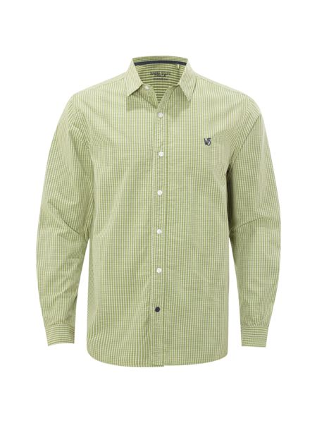 White Stuff Heartland microcheck shirt