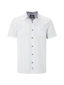White Stuff Sidestroke dobby ss shirt