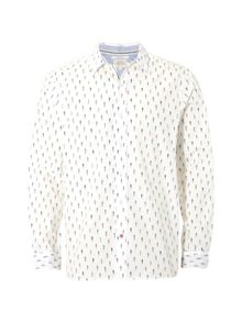 White Stuff Boxer print ls shirt