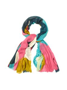 Colourblock Heart Scarf