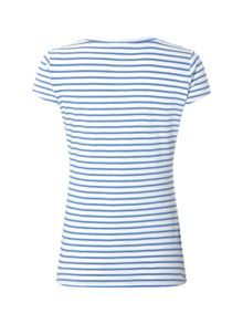 White Stuff Ava Stripe Jersey Tee
