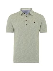 White Stuff Vienna slub stripe polo