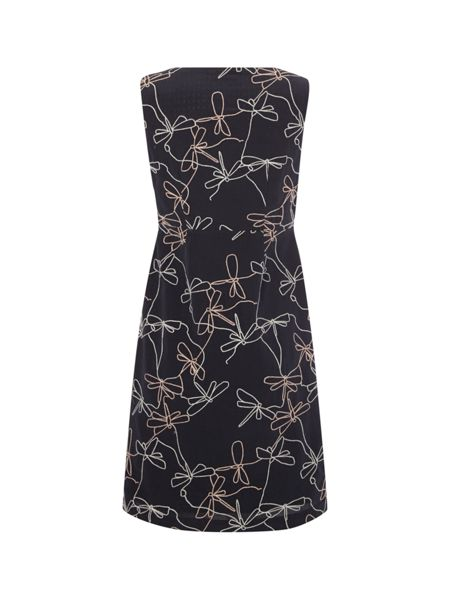 White Stuff Moth Wing Emb Dress