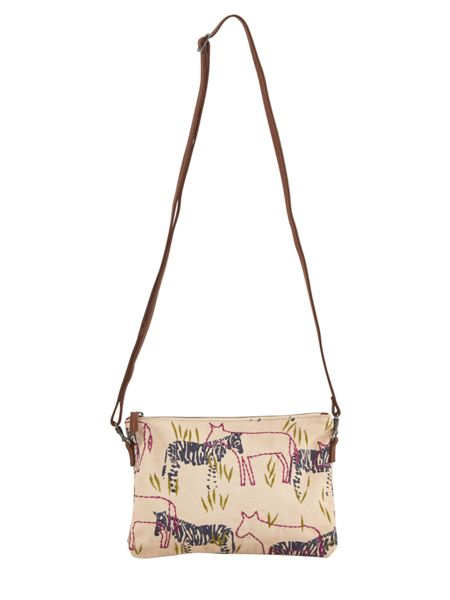 White Stuff Serengeti Crossbody