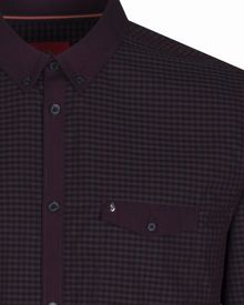 Luke Jan the man Gingham Shirt