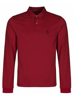 Men's Luke Joe Smashs Long Sleeve Polo Shirt