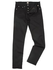 Tapered Fit Rinse Washed Jeans