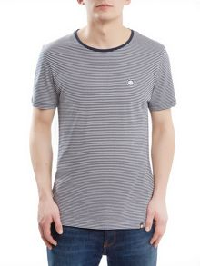 Pretty Green Short Sleeve Striped Feeder T-Shirt