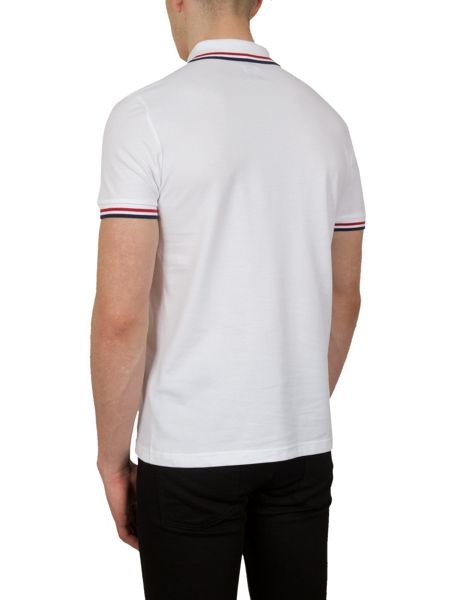 Pretty Green Tipped Pique Polo