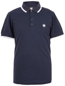 Pretty Green Pretty Green Multistripe Collar Polo