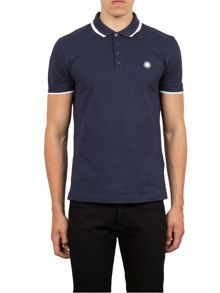 Pretty Green Multistripe Collar Polo