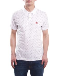 Pretty Green Polka Dot Polo
