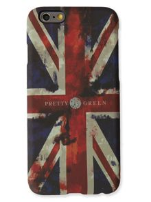 Pretty Green Union jack iphone6 case