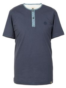 Short Sleeve Geometric Grandad