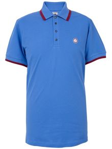 Pretty Green Multistripe Polo Regular Fit Polo Shirt