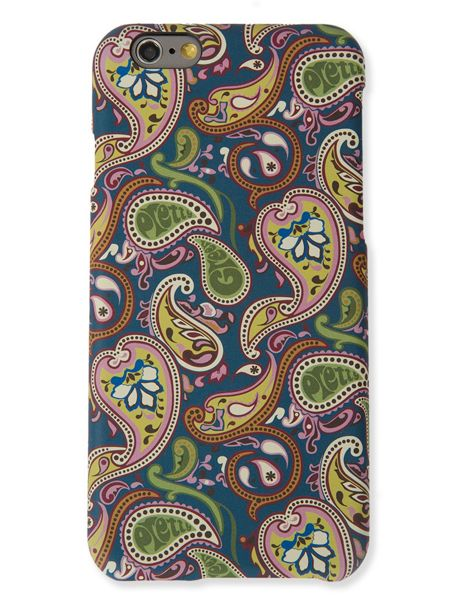Pretty Green Vintage paisley iphone6 case