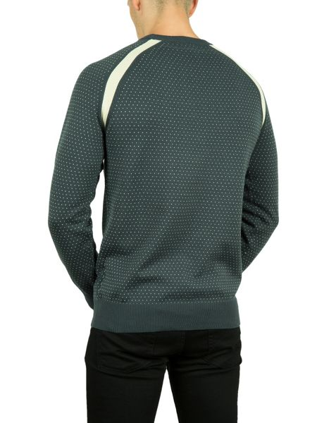 Pretty Green Cotton crew neck sweatshirt
