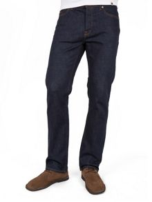 Burnage straight fit rinse washed jeans