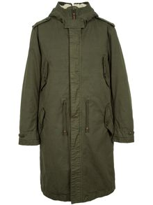 Pretty Green Lennox Parka Jacket