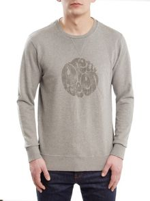 Pretty Green Heyland Cotton Sweatshirt