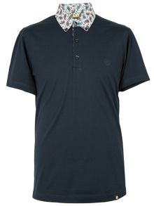 Tahir button down polo