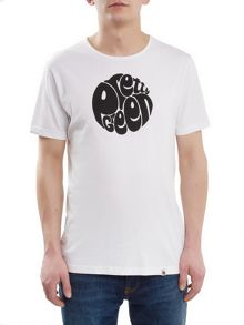Pretty Green Short Sleeve Eastfields Logo T-Shirt