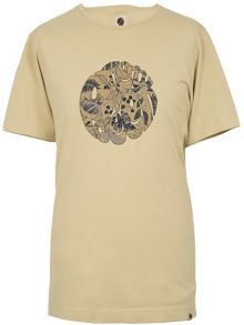 Pretty Green Crawley Leaf Logo T-Shirt