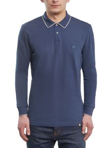 Pretty Green Long Sleeve Barcombe Polo