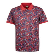 Pretty Green Sefton Print Polo