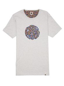 Pretty Green Paisley Tears T-Shirt