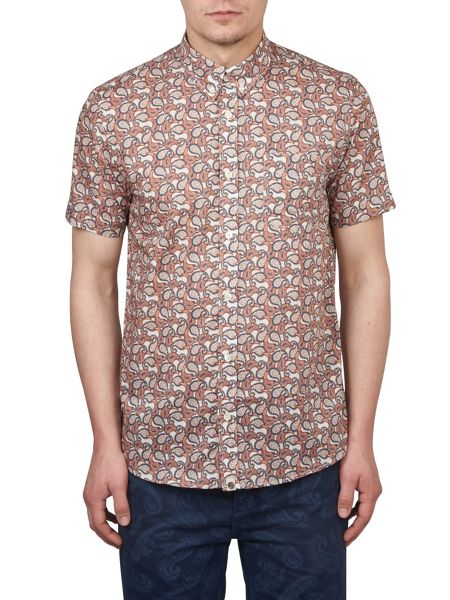 Pretty Green Short Sleeve Leaside Shirt