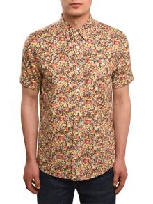 Pretty Green Short sleeve lavister shirt