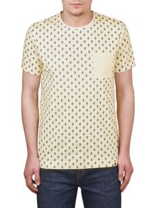 Pretty Green Tarves print tee