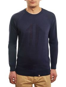 Pretty Green Stelfox Cotton Crew Neck Sweater