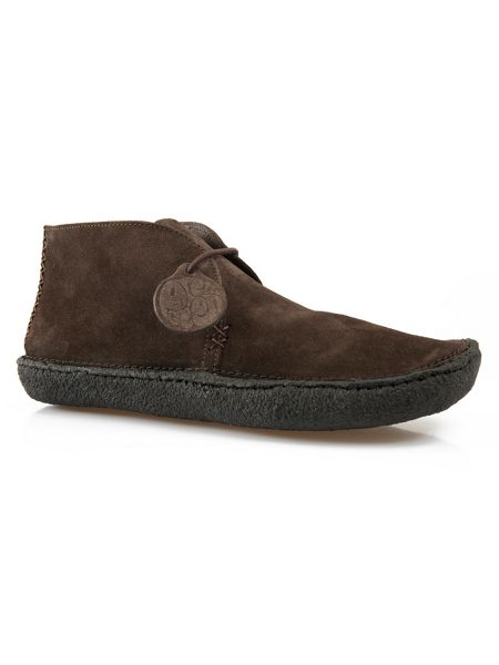 Pretty Green Lexington Suede Boot
