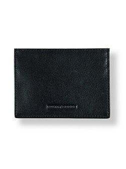 Leather union jack cardholder