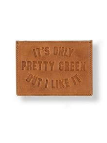 Pretty Green Leather opg cardholder