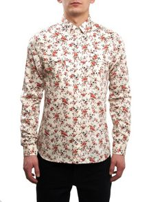Pretty Green Ryecroft Floral Western Shirt